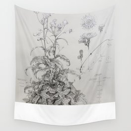 Sow Thistle (Sonchus asper) Wall Tapestry