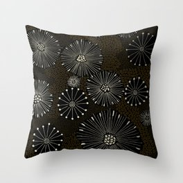 Dandilion Winter Throw Pillow