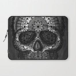 Caveira Mandala Laptop Sleeve
