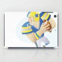 football iPad Cases featuring Football by Dues Creatius