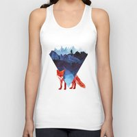 road Tank Tops featuring Risky road by Robert Farkas