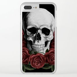 BOUQUET OF DEATH Clear iPhone Case