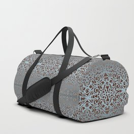 Floral abstract background G100 Duffle Bag