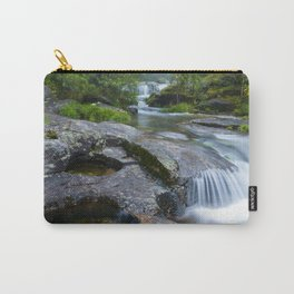 Waterfalls in wild forest Carry-All Pouch