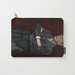 Portrait of an Illustrator - Rockwell Carry-All Pouch