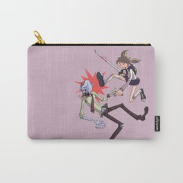 Girl vs Zombie Carry-All Pouch