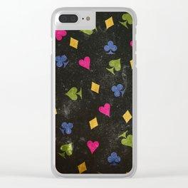 Dark Wonderland Clear iPhone Case