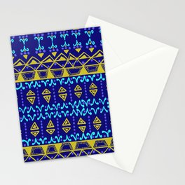 Boho Electric Stationery Cards