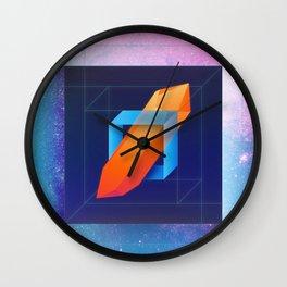Diamond Dimensions #1 Wall Clock