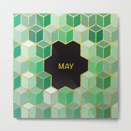 Cubes Of May Metal Print
