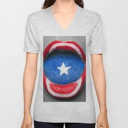 Capt. America Unisex V-Neck