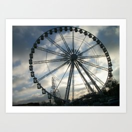 Roue de Paris Art Print
