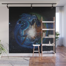Dragon's Soul and the Tree of Life Wall Mural