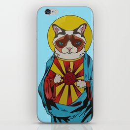 Holy Cat iPhone Skin