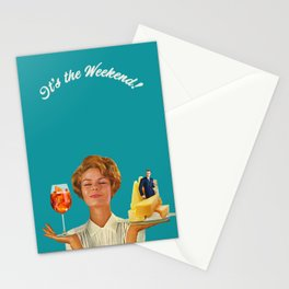Weekend Plans Stationery Cards
