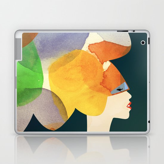 We Discovered Planets Laptop & iPad Skin