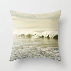 Pismo Waves Throw Pillow