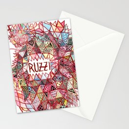 Ruzzi # 001 Stationery Cards