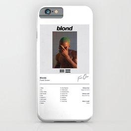 Frank -  Blonde - Ocean - Album Illustration Hip Hop iPhone Case