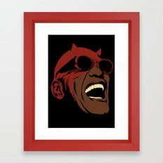 Hit The Road, Matt Framed Art Print