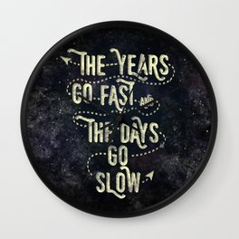 Getting Old Wall Clock