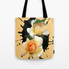 Rose Splashes Tote Bag