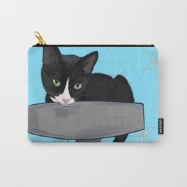 Layla Tuxedo Cat  Carry-All Pouch
