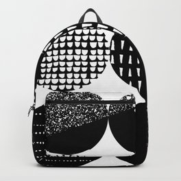 Swatch, Black and White Backpack