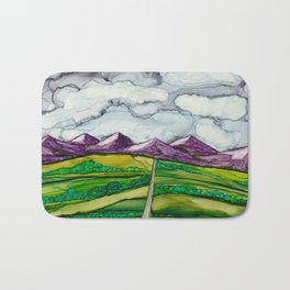 Take Me To The Mountains Bath Mat