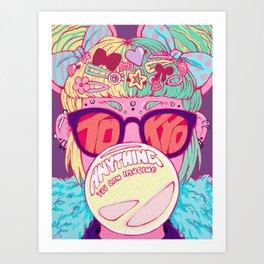 Tokyo Travel Poster Art Print