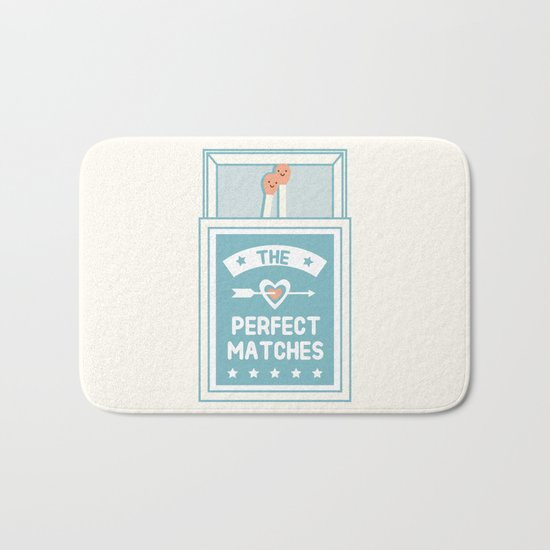 The Perfect Matches Bath Mat