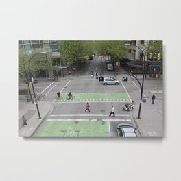 View from above Vancouver Metal Print