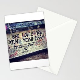 She Loves You Stationery Cards