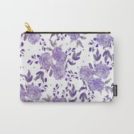 Bouquet of Purple Roses Carry-All Pouch