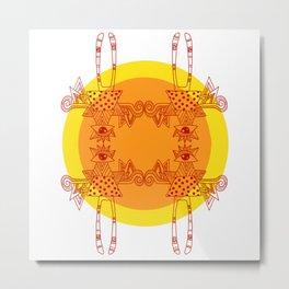 Popsych:53: Metal Print
