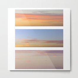 Sky set Metal Print