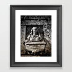 Roman Bust Framed Art Print