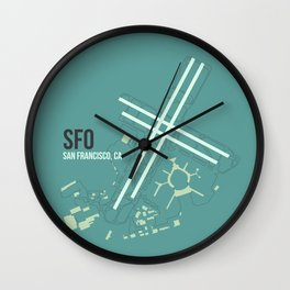 SFO Wall Clock