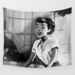 Anya Smith - Roman Holiday (Audrey Hepburn) Wall Tapestry