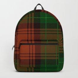 Red & Green Tartan Backpack