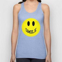 Smile Face 2 Unisex Tank Top