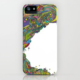 Night sky to look from the cave iPhone Case