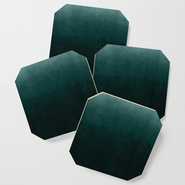 Ombre Emerald Coaster