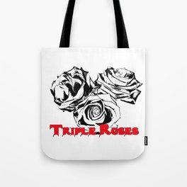 Triple Roses Tote Bag