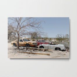 Here are Some Cars Metal Print