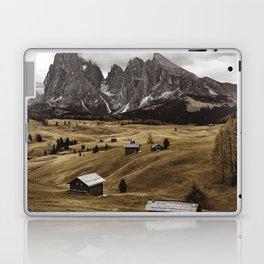 seiser alm landscape Laptop & iPad Skin