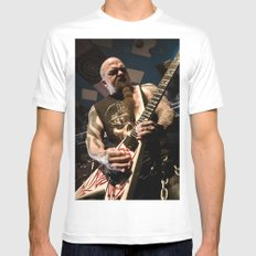 Kerry King of Slayer MEDIUM White Mens Fitted Tee