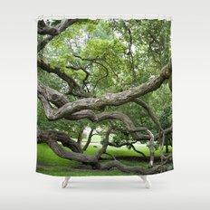 adapt or perish Shower Curtain