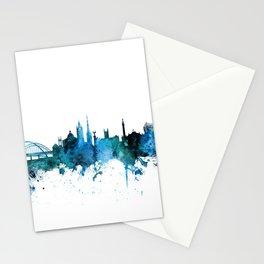 Newcastle England Skyline Stationery Cards