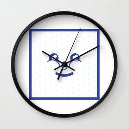 Cute Face Sam Wall Clock